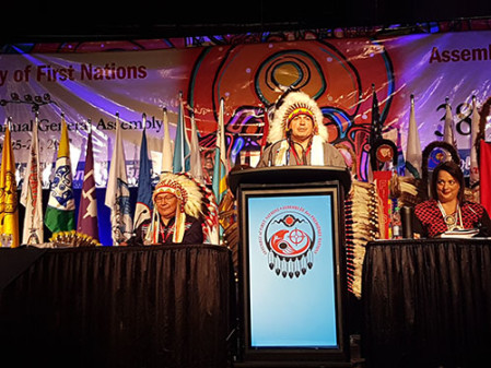 AFN National Chief Perry Bellegarde Announces Major Changes Giving First Nations Greater Financial Control-1