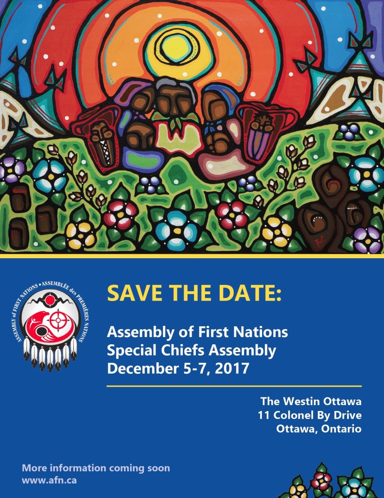 AFN Special Chiefs Assembly 2017 - Save the Date
