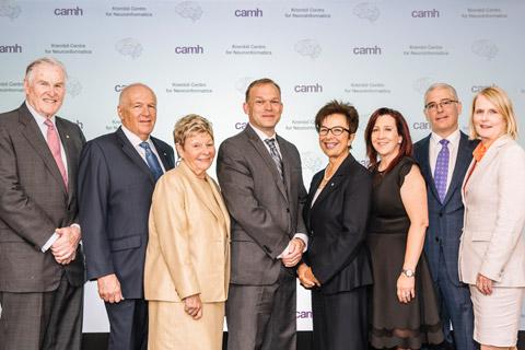 Launch of Krembil Centre
